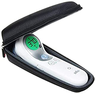 Hermitshell Hard Protective Travel Case for Braun Thermometer 2 in 1 No-Touch + Front (NTF3000WE)-Only Case