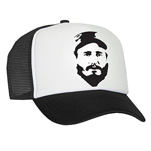 Raphia type Fidel Castro Casquette en maille