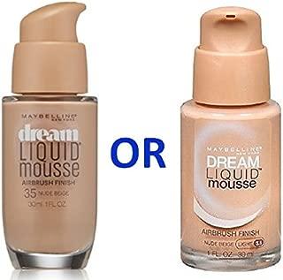 Maybelline Dream Liquid Mousse Foundation– NUDE BEIGE (LIGHT 3.5)