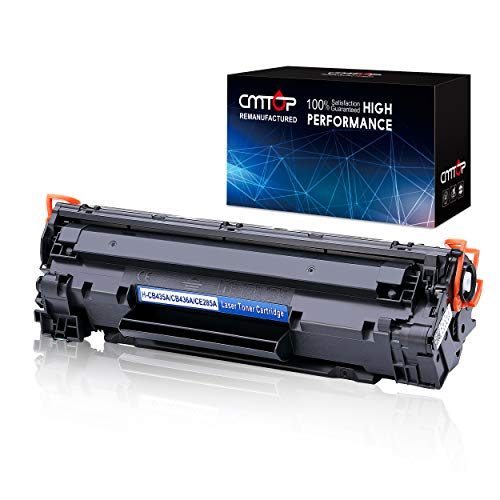 CMTOP 85A CE285A Compatible Toner Replacement for HP 85A CE285A Toner, use in HP Laserjet Pro P1102W P1109W P1100 P1102 P1109 M1130 M1132 M1138 M1139 M1212NF M1217NFW M1219NF MFP Printer, Black