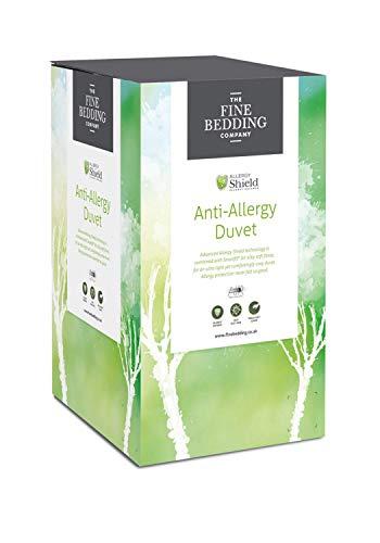 The Fine Bedding Company - Anti-Allergy Microfibre Duvet - Anti Dust Mite - Single 13.5 Tog