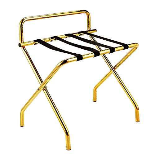 Buy CHAOYANG Room Luggage Holder, Hotel Stainless Steel Folding Luggage Rack, Travel Break Folding S...