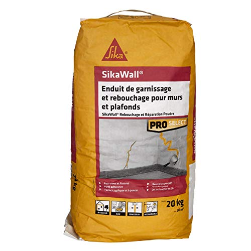 Sikawall afdichting en reparatie, voor muren en plafonds, poeder, 20 kg