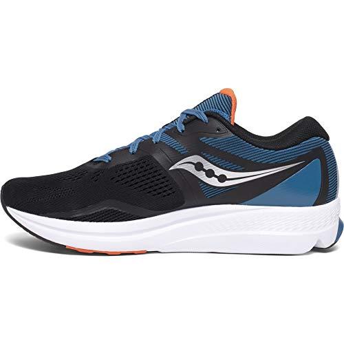 Saucony Jazz 22, Zapatillas de Atletismo Hombre, Azul Blue Black, 43 EU