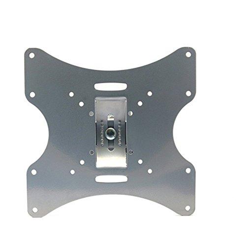 Maclean MC-501A S - Soporte de pared para pantalla TV LED LCD PLASMA para Panasonic, Philips, LG, Loewe, Medion, Samsung, Sharp, Hisense, Hitachi, Pioneer, Haier, Xoceco, Sony, TCL, KONKA, RCA, Toschiba, Orion, Fujitsu, Asus, Zoll 23, 24, 25, 26, 27, 28, 29, 30, 32, 37, 39, 40, 42 VESA Soporte inclinable de acuerdo con el estándar VESA 75x75 100x100 200x100 200x100 200x200