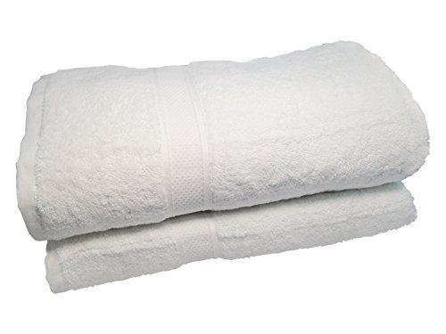 2 Toallas gramaje 600 mezcla bambu y algodón orgánico más respetuosa con la piel sensible