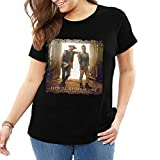 Flo-rida Geor-gia Line Classic Womens Casual Short Sleeve T-Shirt Basic Plus Size Tee Printed Tops XL to 6XL Black 3X-Large