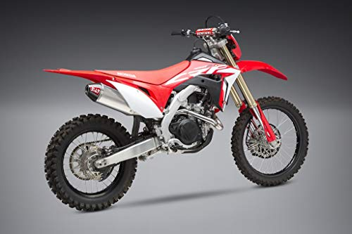 Yoshimura RS-4 Full System Exhaust (Enduro/Aluminum with Carbon Fiber End Cap) Compatible with 19 Honda CRF450X