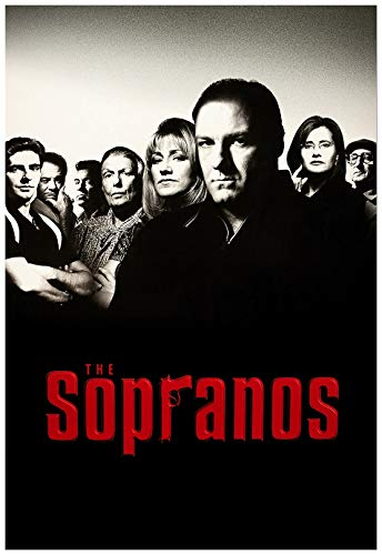 The Sopranos TV Series Poster 24 x 36 Inches USA Shipped Print - Ready for Display