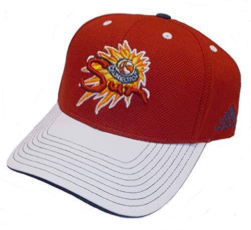 adidas WNBA Connecticut Sun Structured Adjustable Hat - VL57Z