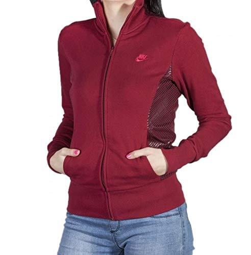 Nike Dames Jas Jumper Top Sweatshirt Sportswear (L) Kastanjebruin