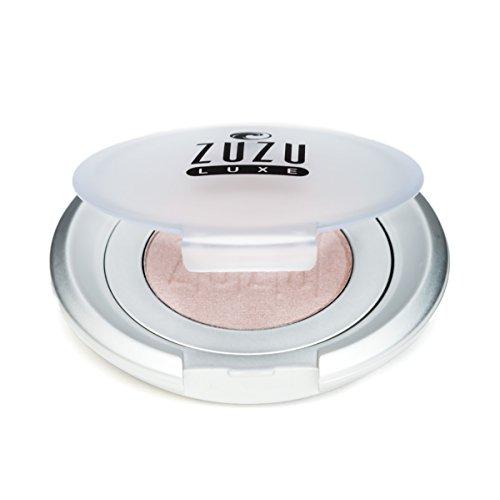 Zuzu Luxe Eyeshadows (Platinum),0.07 oz,Mineral Eyeshadow, Richly pigmented, velvety smooth formula. Natural, Paraben Free, Vegan, Gluten-free, Cruelty-free, Non GMO.