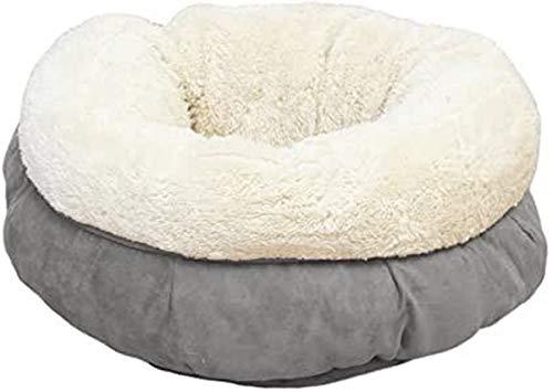 AFP AFPK02136 Katzenbett Lambswool Donut Bed, grau