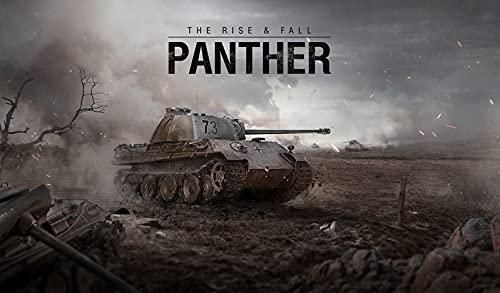 Revell 03509 Panther AUSF. D World of Tanks Modellbausatz für Einsteiger mit dem Easy-Click-System, farbige Bauteile