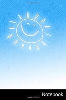 Notebook: Sol, Sonrisa, Alegría, Positivo Cuaderno / Diario / Libro de escritura / Notas - 6 x 9 pulgadas (15.24 x 22.86 cm), 150 páginas, superficie brillante.