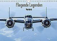 Fliegende Legenden - Warbirds (Wandkalender 2022 DIN A4 quer): Fliegende historische Flugzeuge des 2. Weltkrieges (Monatskalender, 14 Seiten )