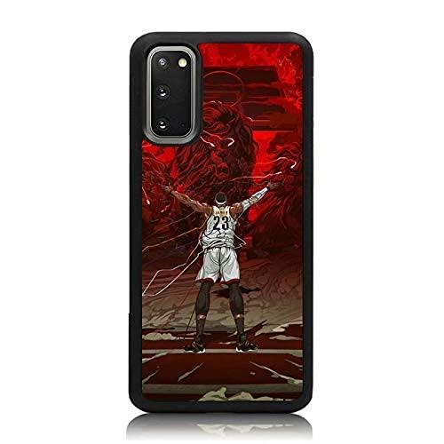TPU Fino a Prueba de Golpes para Basketball Player with Lion Cubierta Negra de Las Cajas del teléfono iPhone Samsung Xiaomi Redmi Note 10 Pro/Note 9/8/9A/Poco M3 Pro/Poco X3 Pro Funda