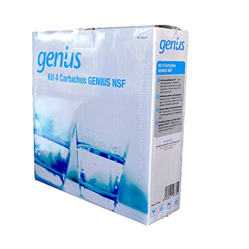 ATH - Recambios osmosis Genius NFS - Cartucho Superior Conexión Directa. Antibacterias 304230