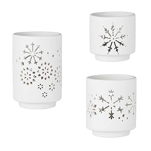 Räder Design Teelichthalter Wintertafel (3-teilig)