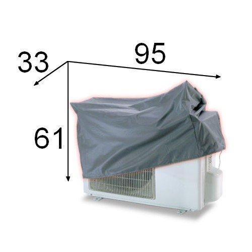 SUPERSAMASTORE Telo cappottina Copri climatizzatore Dual Split – L.950 x P.330 x H.610 mm