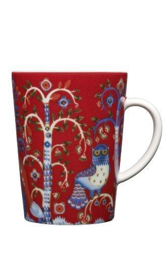 Iittala Taika 13-1/2-Ounce Capacity Mug , Red by Iittala