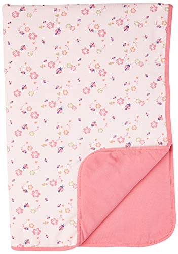 Steiff Baby-Mädchen GOTS Decke Jersey, Almond Blossom, One Size