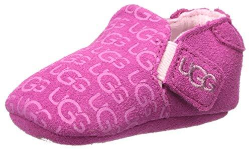 UGG Baby ROOS Crib Shoe, Fuchsia, 04/05 M US Infant