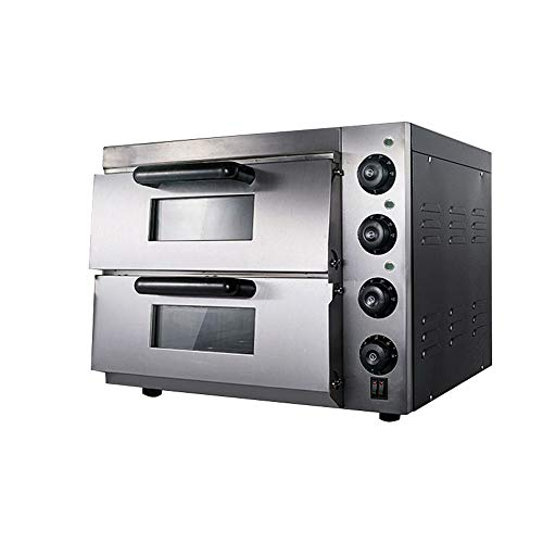 TECHTONGDA Commercial Pizza Oven Convection Oven Double Electric Commercial Bread Machine