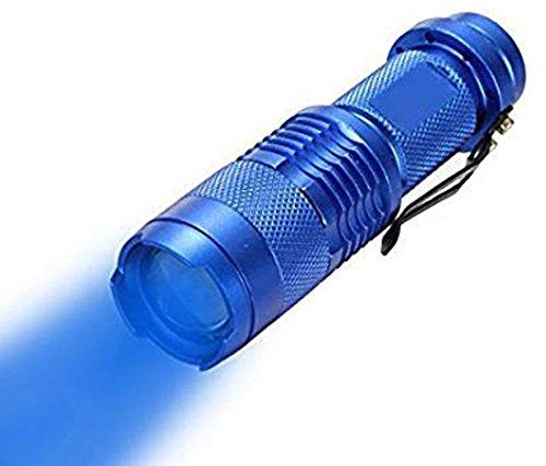WAYLLSHINE Single Mode Red Light Flashlight, 1 Mode Red LED Flashlight 18650 Red Flashlight Red Light, Red LED Red Light For Astronomy, Aviation, Night Observation(No Battery Included)