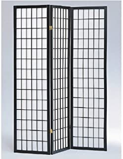 Panel Shoji Screen Room Divider 3 - 10 Panel (3 panel,...
