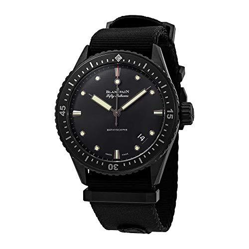 Blancpain 5000-0130-NABA - Orologio automatico da uomo Fifty Fathoms
