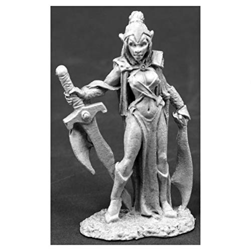 Reaper Miniatures D'Mona, Female Vampire #03814 Dark Heaven Unpainted Mini