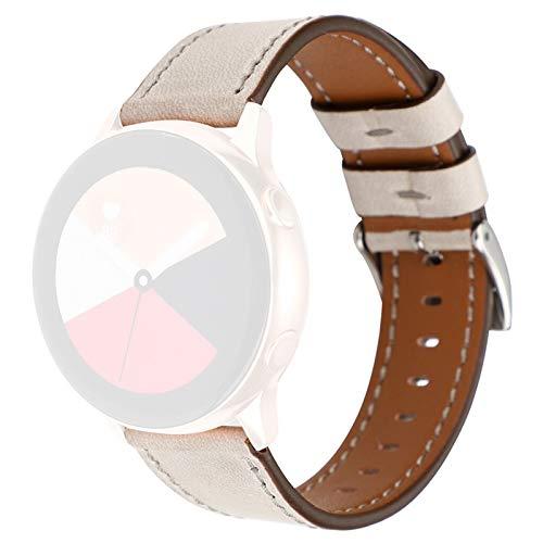 Correa De Reemplazo De Banda De Cuero Premium Delgada para Samsung Galaxy Watch Active 40mm Pulsera Reloj Correa Fitness Tracker (Color : C)