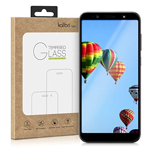 kalibri Folie kompatibel mit HTC U12 Life - 3D Glas Handy Schutzfolie - auch für gewölbtes Bildschirm