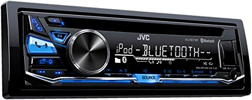 JVC KD-R871BT Autoradio USB/CD-receiver met Bluetooth incl. A2DP zwart