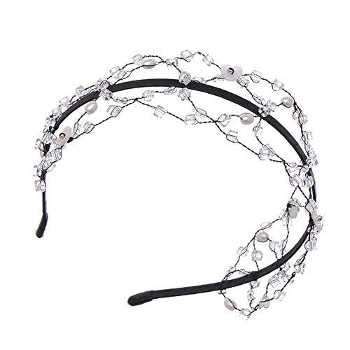 Headdress Crystal Haarband Haarband Headdress Handgemaakte Prachtige Mode Hoofdband Haarband Haaraccessoires Gift