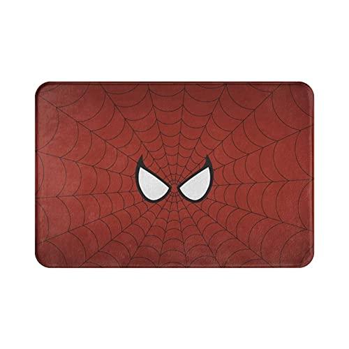 Felpudo de estilo Spiderman para entrada, para interior/puerta delantera, baño, cocina y sala de estar/dormitorio.