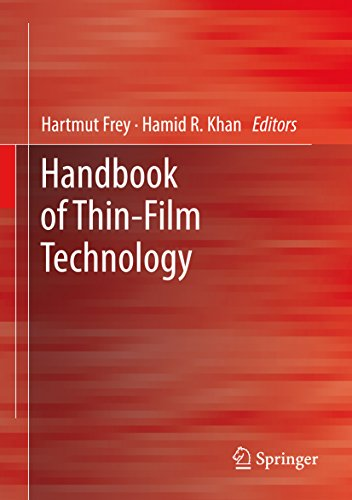 Handbook of Thin Film Technology (English Edition)