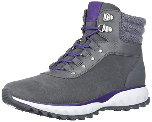Cole Haan Women's Zerogrand XC Hiker Waterproof Hiking Boot, Quiet Shade Wp Suede, 10.5 B US