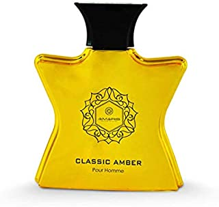 Classic Amber Pour Homme by Amaris - perfumes for men - Eau de Parfum, 100ml