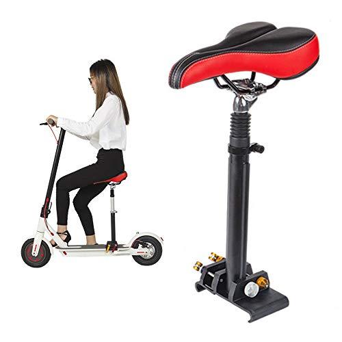 sujrtuj Höhenverstellbarer Elektro-Scooter-Sattel-Set für Stuhl Scooter Elektro