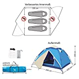 Aretus Eagle Tent Pop-Up Zelt 4P - 3