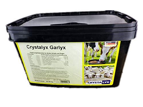 Crystalyx Garlyx Knoblauch Insektenabwehr Ergänzungsfuttermittel Schafe Rinder