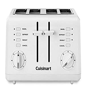 Cuisinart CPT-140 Electronic Cool Touch 4-Slice Toaster, White (B0000A1ZMX)   Amazon price tracker / tracking, Amazon price history charts, Amazon price watches, Amazon price drop alerts