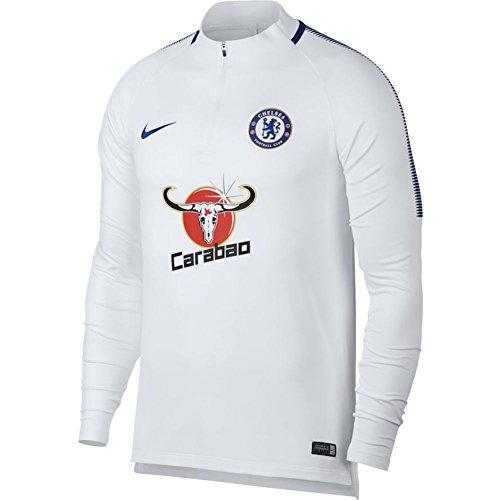 Nike 2017-2018 Chelsea Drill Training Top (White)