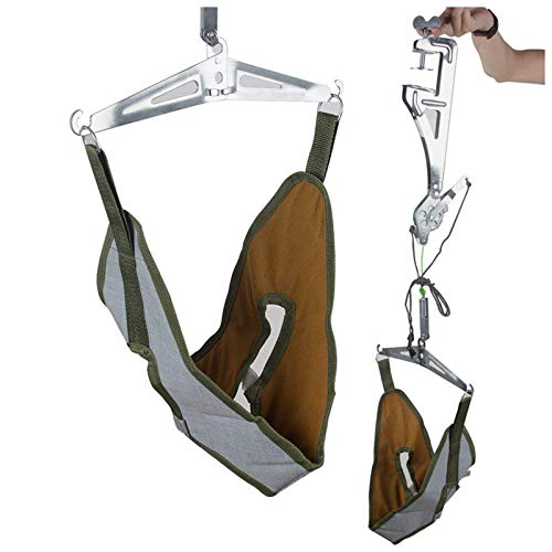 Neck Cervical Traction Unit Kit - Home Over Door Neck Spinal Decompression Device, Head Harness Brace Pain Relief
