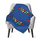 Super Matteo Baby Blanket Super Soft Printed Blanket Receiving Blanket for Boys Girls, Stroller, Crib, Newborns, Receiving