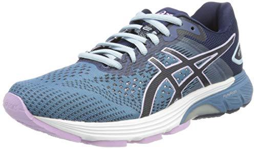 ASICS Chaussures de Course pour Femme Gt-4000 2 - - Gris Clair Violet Nuit, 37.5 EU