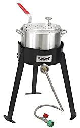 Budget Choice for Best Outdoor Deep Fryer: Bayou Classic 2212 Fish Cooker Outdoor Deep Fryer Set
