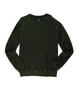 Haggar Mens Solid Textured Knit Sweater vinehtr XL